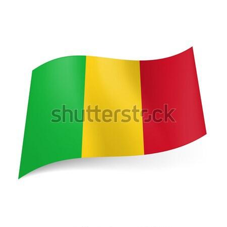 State flag of Mali. Stock photo © dvarg