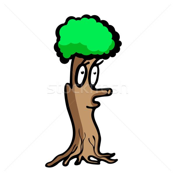 Funny tree Stock photo © dvarg