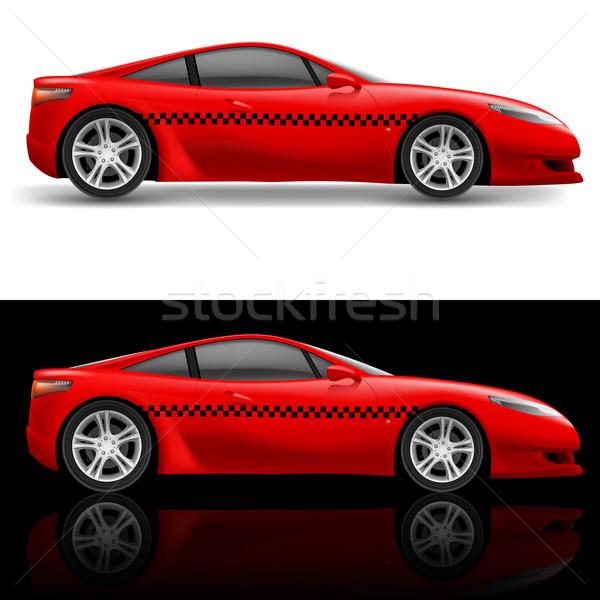 Red sports car Stock photo © dvarg
