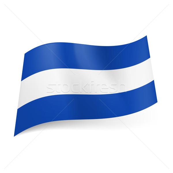 State flag of El Salvador. Stock photo © dvarg