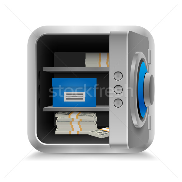 Safe full of money Stock photo © dvarg