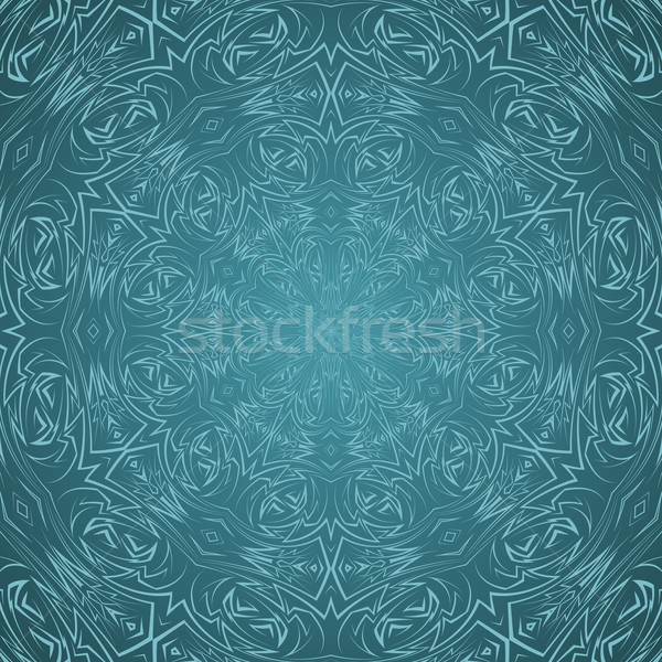 Abstract pattern in cyan Stock photo © dvarg