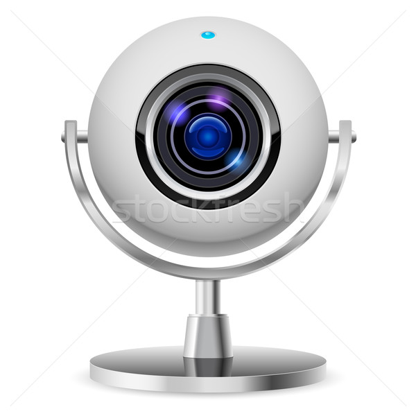 Realistic computer web cam Stock photo © dvarg