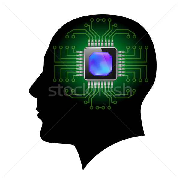 Printed circuit board Stock photo © dvarg