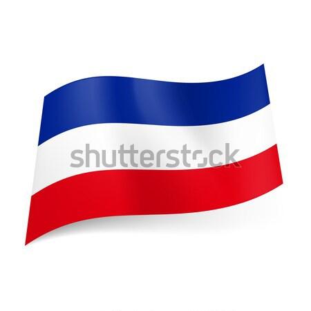 State flag of Yugoslavia  Stock photo © dvarg