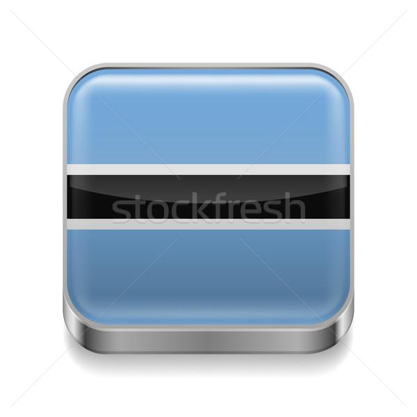 Metal  icon of Botswana Stock photo © dvarg