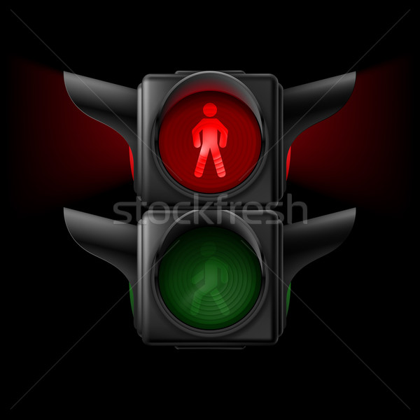 Pedestrian traffic light Stock photo © dvarg
