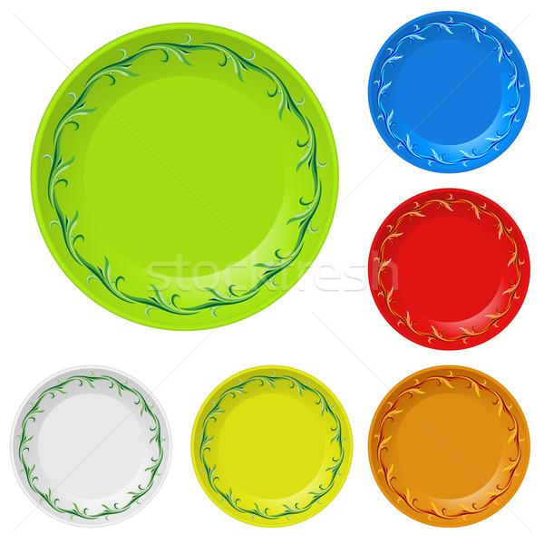 Disposable plates Stock photo © dvarg