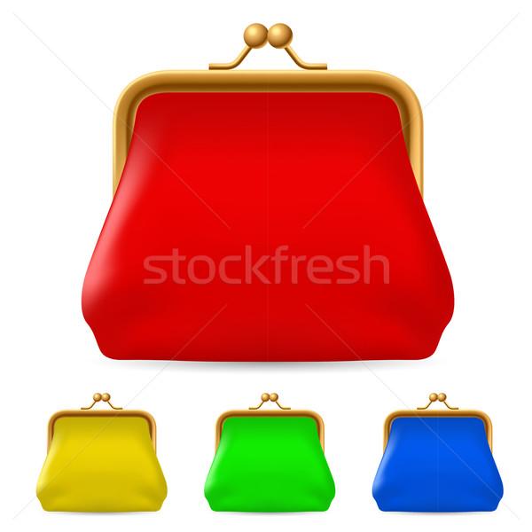 Colorful purses Stock photo © dvarg