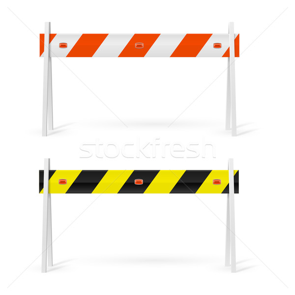Road barrier Stock photo © dvarg