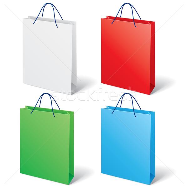 Colorful shopping bag Stock photo © dvarg