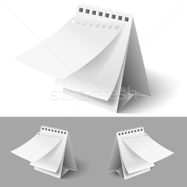 Blank flip calendars Stock photo © dvarg