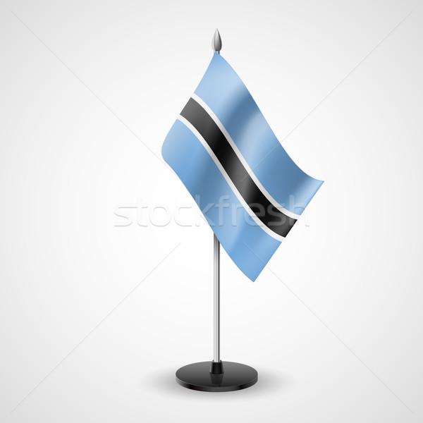Table flag of Botswana Stock photo © dvarg