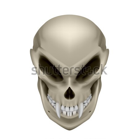 Skull of a mutant Stock photo © dvarg