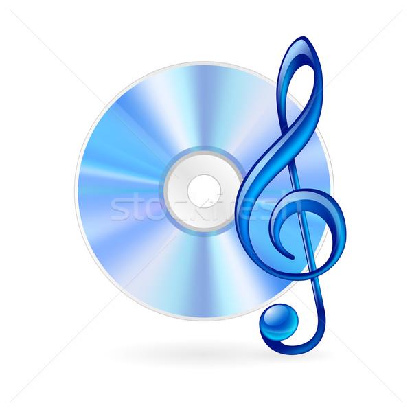 Music icon Stock photo © dvarg