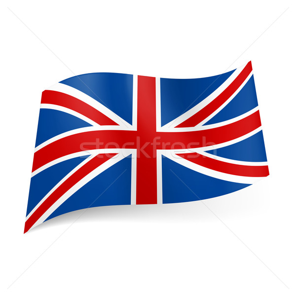 State flag of Great Britain.  Stock photo © dvarg