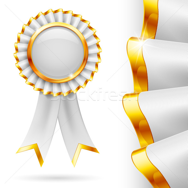 White award ribbon Stock photo © dvarg