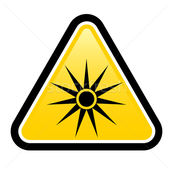 Safety signs warning triangle sign  Stock photo © dvarg