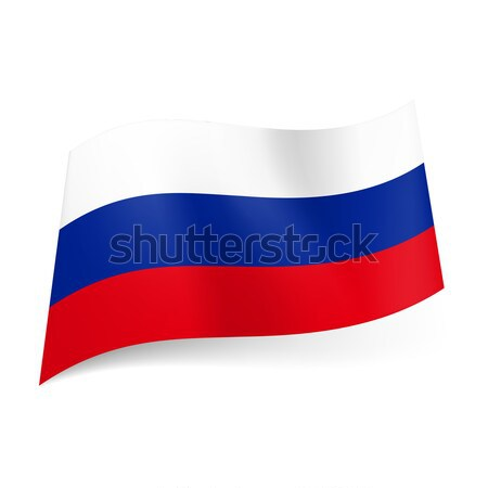 State flag of Russia Stock photo © dvarg