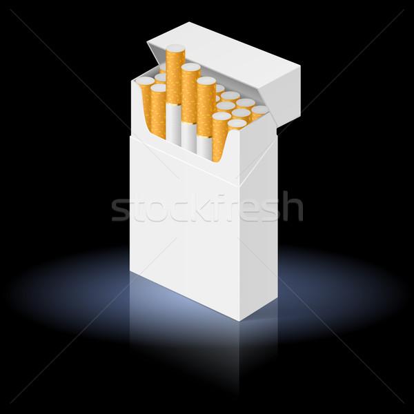 Pack of cigarettes Stock photo © dvarg