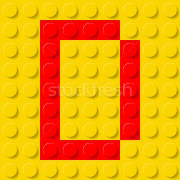 Letter D in construction kit. Stock photo © dvarg