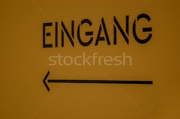 Stock photo: Eingang