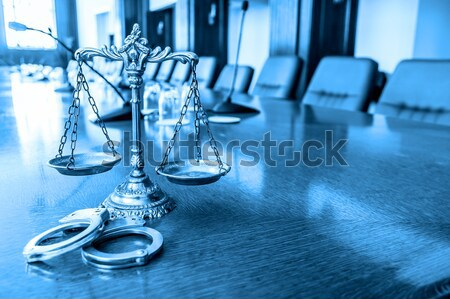 Scales of Justice Stock photo © dzejmsdin