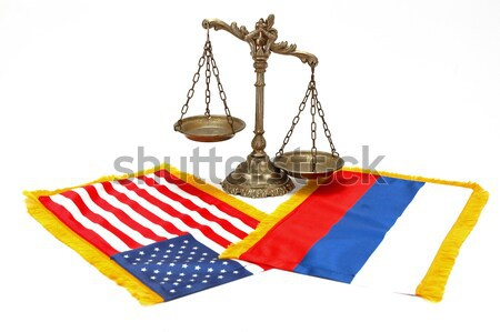 Stock photo: American Law and Justice