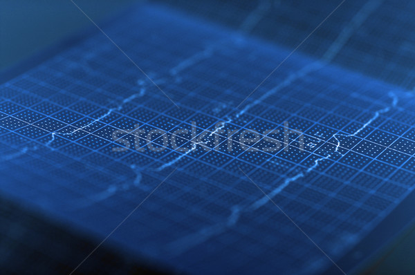 ECG Electrocardiogram Stock photo © dzejmsdin