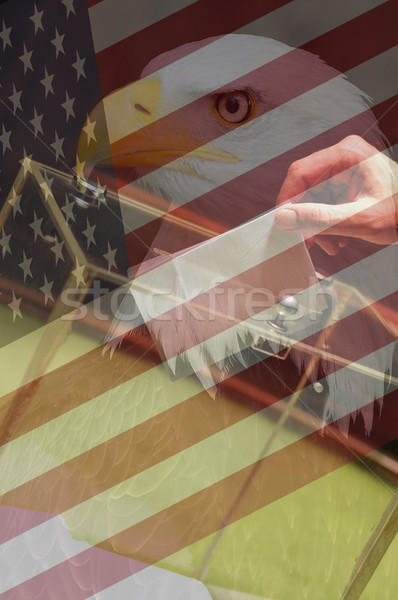 American election concept Stock photo © dzejmsdin