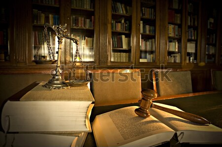 Judge's gavel Stock photo © dzejmsdin
