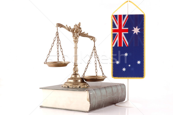 Australian Law and Order Stock photo © dzejmsdin