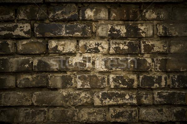 Гранж кирпичная стена фото стены аннотация дизайна Сток-фото © dzejmsdin