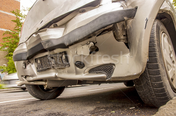 After Car Accident Stock photo © dzejmsdin