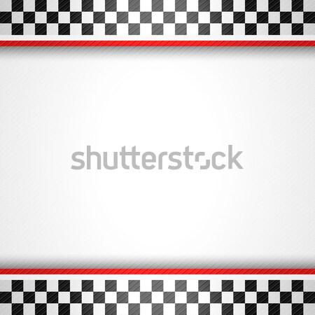Versenyzés függőleges út sport absztrakt keret Stock fotó © Ecelop