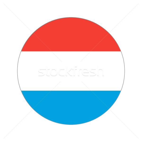 Wereld vlag vorm witte reizen Stockfoto © Ecelop