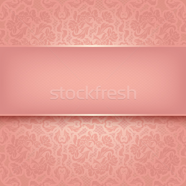 Decorative pink ornament Stock photo © Ecelop