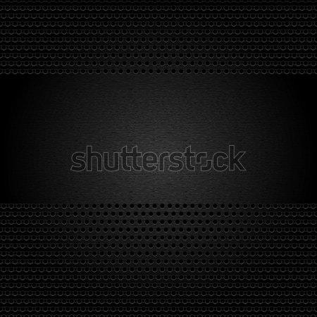 Foto stock: Metálico · grande · tecnología · placa · patrón · hierro