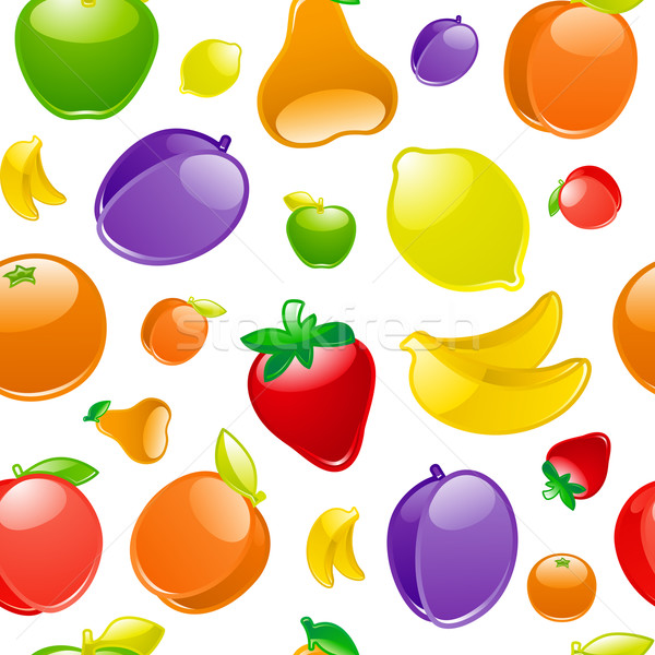 Fruit to background, seamless Stock photo © Ecelop
