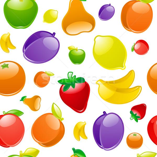 Fruits fond été orange web Photo stock © Ecelop