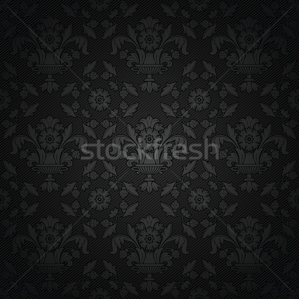 Corduroy background, ornamental fabric texture Stock photo © Ecelop