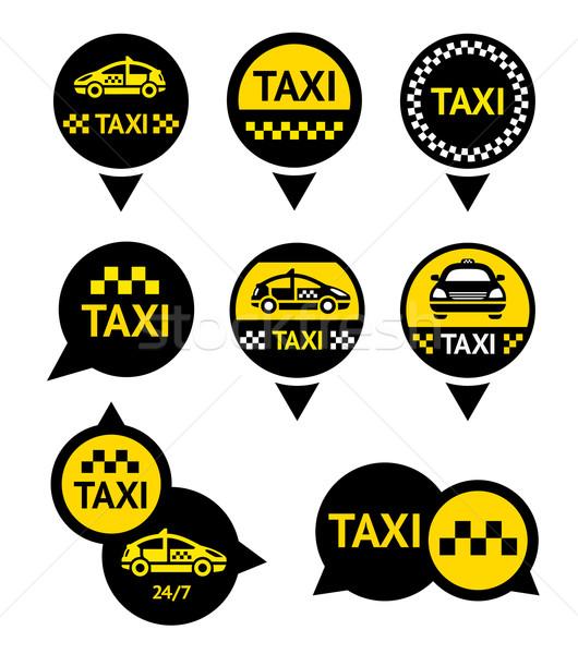Taxi - Emblems Stock photo © Ecelop