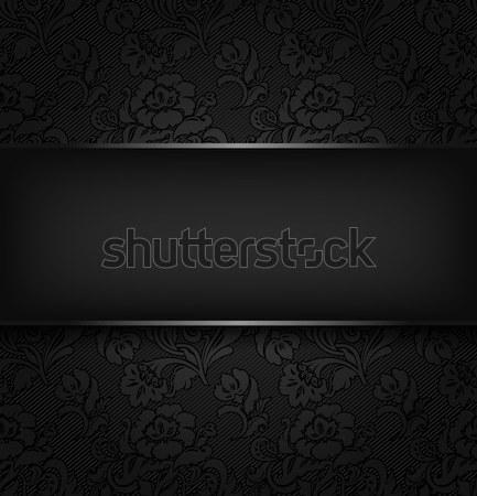 Tessuto texture libro spazio nero Foto d'archivio © Ecelop