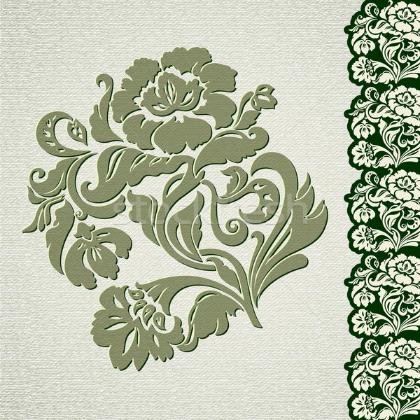 Flower vintage lace Stock photo © Ecelop