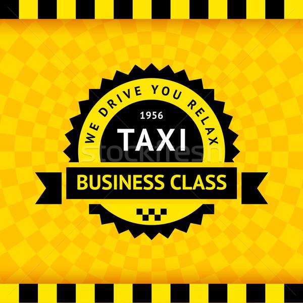 Сток-фото: такси · символ · бизнеса · дороги · город