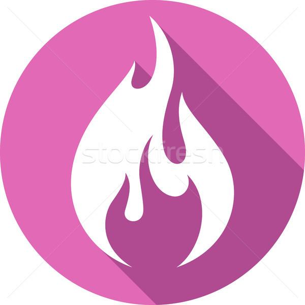 火災 たき火 難 サークル 電源 ストックフォト © Ecelop