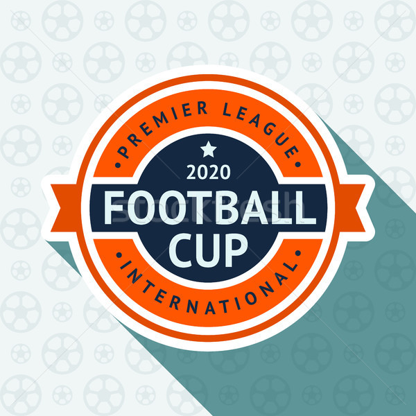 Soccer cup badge Stock photo © Ecelop