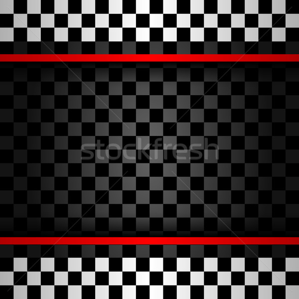 Stock photo: Racing square backdrop