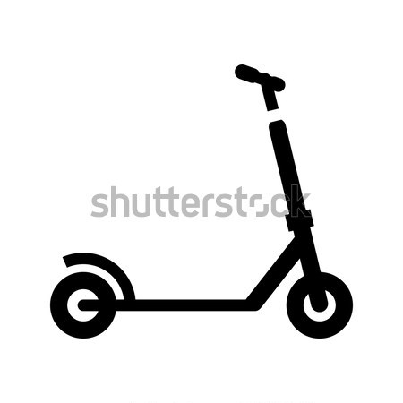 micro scooter icon Stock photo © Ecelop