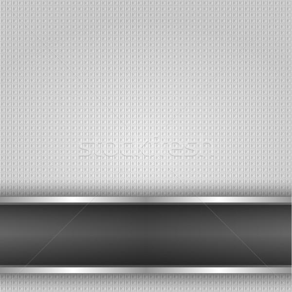 Superficie metallica ferro texture sfondo vettore design Foto d'archivio © Ecelop